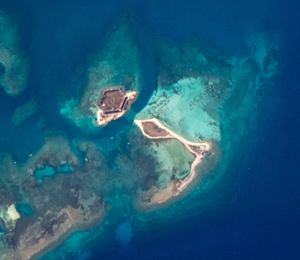 Dry Tortugas Geography : The Atoll
