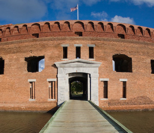 Fort Jefferson at the Dry Tortugas National Park